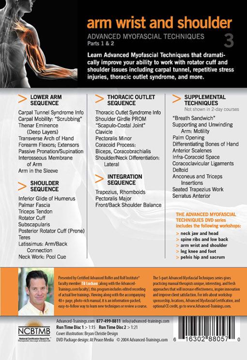 Arm Wrist Shoulder - Myofascial Techniques